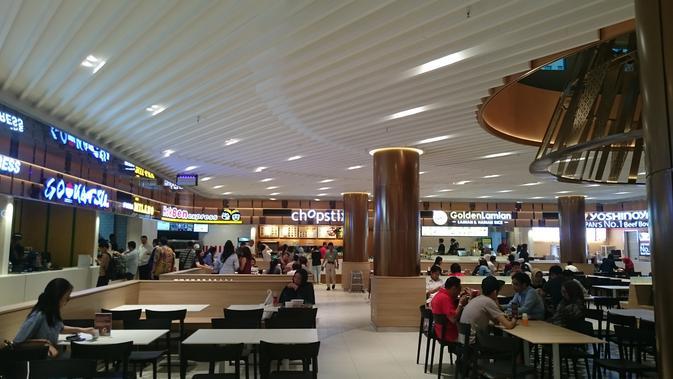 Berikut penampilan baru destinasi kuliner di Plaza Senayan setelah renovasi. (Foto: Liputan6.com/ meita fajriana)
