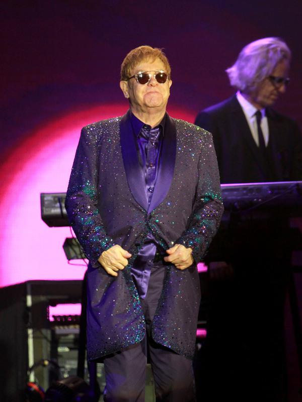 Musisi terkenal, Elton John. (AFP/Bintang.com)