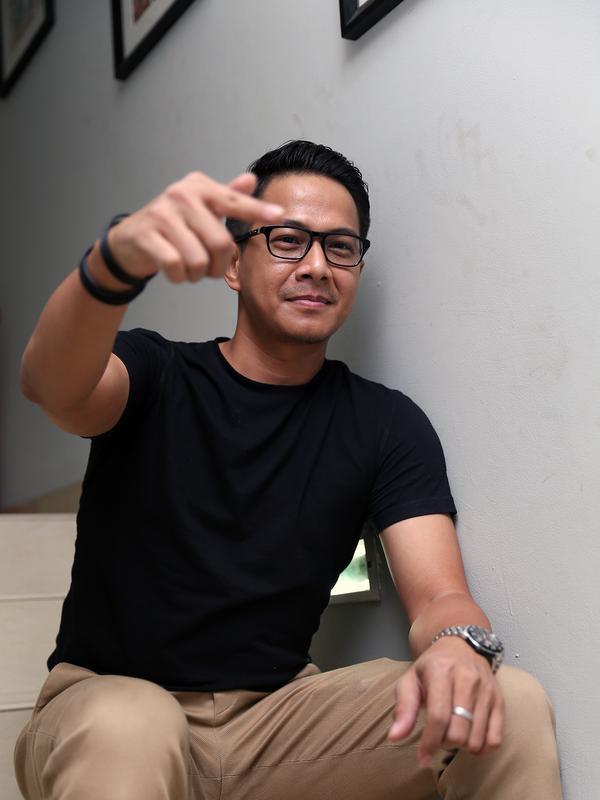 Delon  (Andy Masela/Bintang.com)